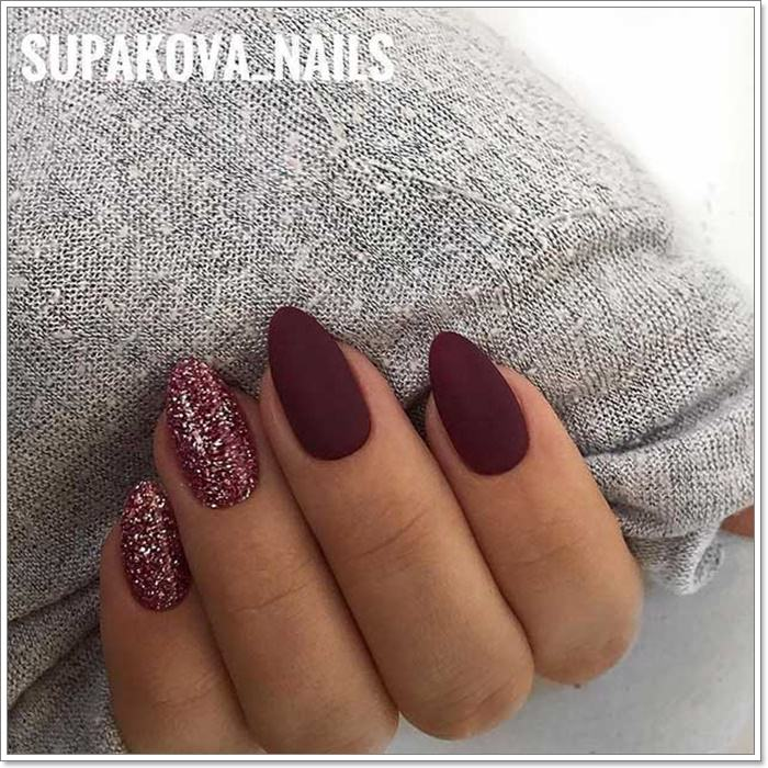 112 Epic Burgundy Nails You Must Try