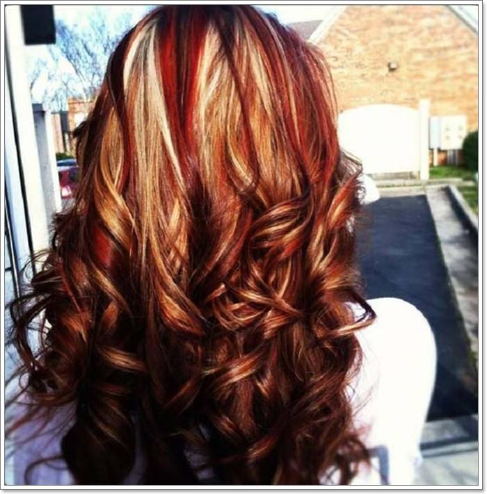 127 Spicy Fall Hair Colors To Try