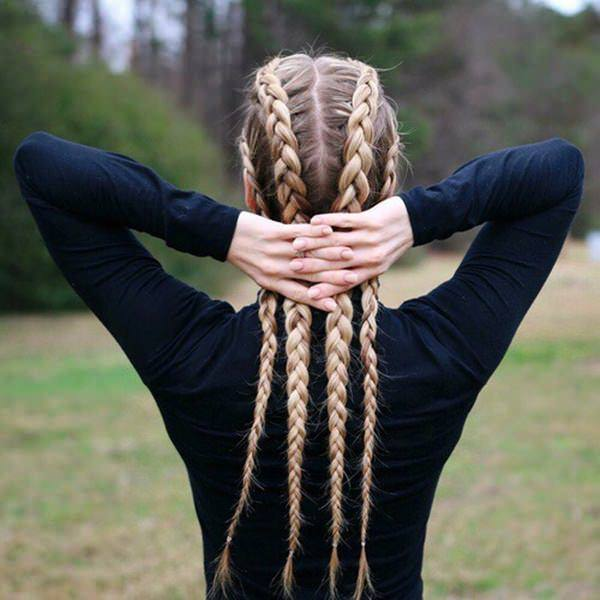 Four Section Braids